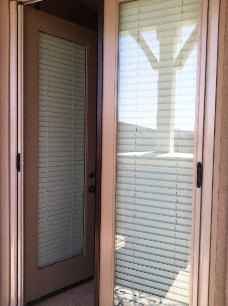 champagne_beige_french_double_roll_away_screen_door