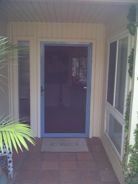 Country Blue Tru-View Security Screen Door