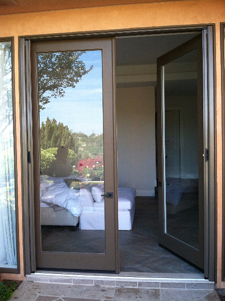 extra_tall_and_wide_beige_grey_custom_color_french_roll_away_screen_doors