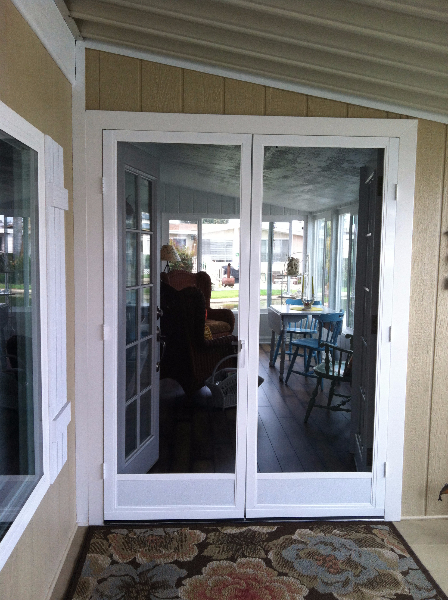 white_french_full_view_swinging_screen_doors_with_bettervue_screen_mesh